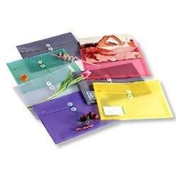 橫式壓花透明文件袋 環保材質 非大陸製 GF218 HFPWP