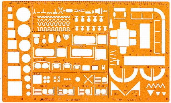 萬事捷 室內設計板(1:50)傢俱 923