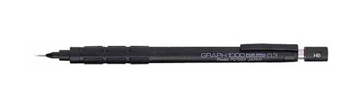 Pentel GRAPH 1000 製圖鉛筆 PG100 HFPWP