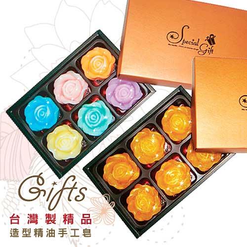 (6入組)玫瑰之戀造型手工皂禮盒 TS11 HFPWP