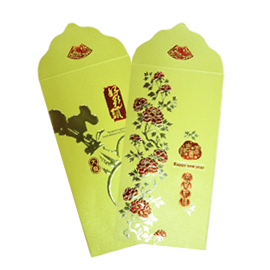 Dr.Paper 精緻紅包袋-2款(金色系) 2入/包