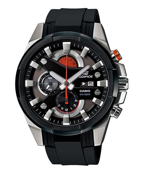 CASIO EDIFICE EFR-540-1A 3D賽車時尚流行腕錶/黑面48mm