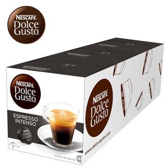雀巢 新型膠囊咖啡機專用 義式濃縮濃烈咖啡膠囊 (一條三盒入) 料號 12088581 ★醇厚無比的義式風味