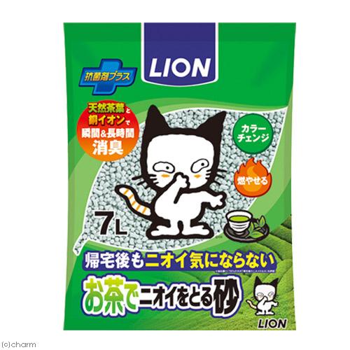 《日本LION》多酚除臭綠茶紙貓砂 - 7L / 除臭強 / 凝結好 / 用量省 / 日本紙砂
