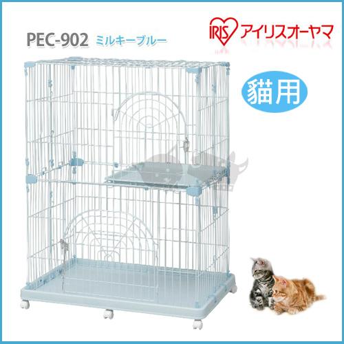 《日本IRIS》貓籠 IR-PEC-902 / 藍色 - 貓用