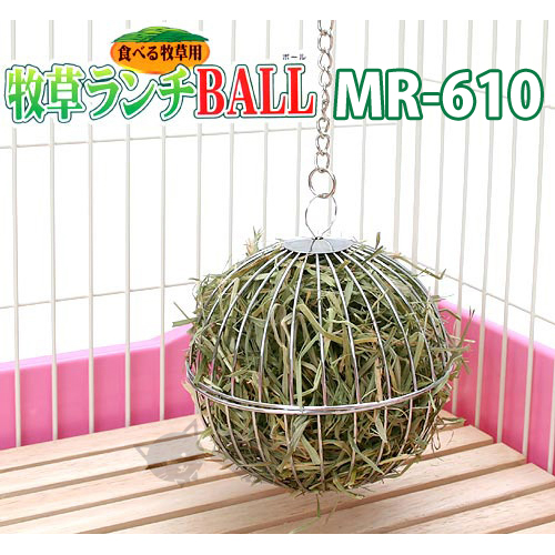 《 日本Marukan》MR-610 兔用三用牧草球-天竺鼠兔子適用