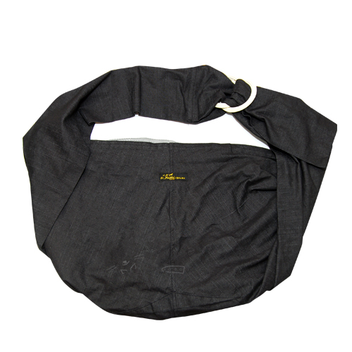 《 Ayumi寵物背巾 》 可調式袋鼠媽媽袋DogSling黑色