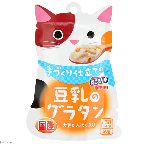 日本進口妮可媽媽 貓手作料理主食60g-鮪魚豆乳燉飯/貓咪主食餐包