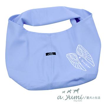 Ayumi寵物背巾-時尚style袋鼠媽媽袋-天使款