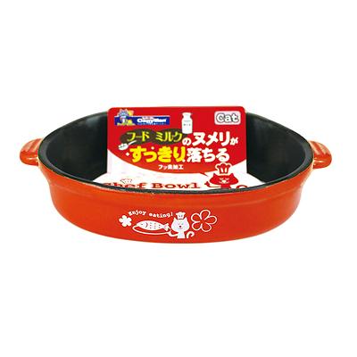 日本DoggyMan寵物食器/貓用不沾餐碗貓碗餐具