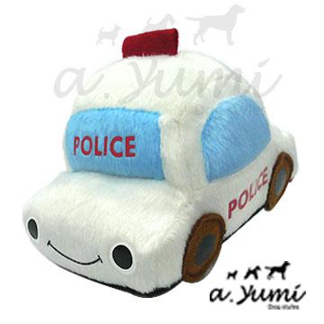 Ayumi精選-寵物玩具-俏皮警車造型玩具(白)
