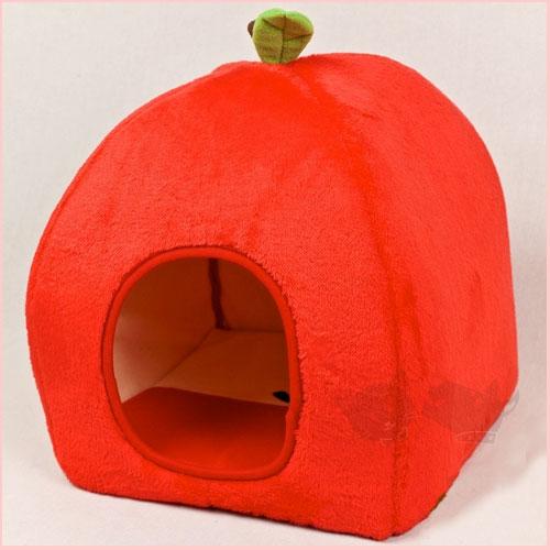 【日本kujima】富士苹果蒙古窝三角窝 - 狗床猫窝 ●可爱的苹果造型