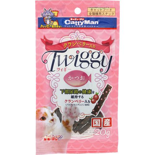 《日本Cattyman》twiggy 貓草化毛貓零食 - 鰹魚口味 / 泌尿系統保健【缺貨】