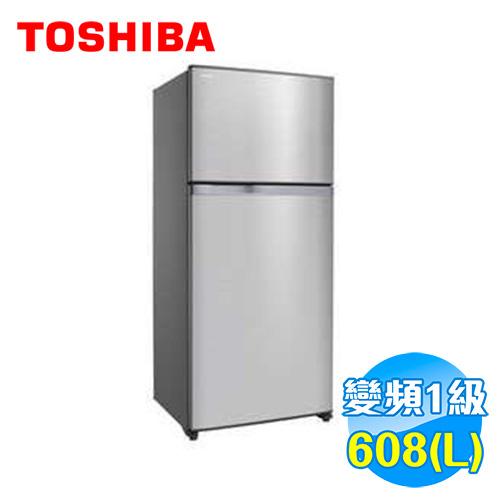 Toshiba 東芝 608公升 雙門變頻抗菌冰箱 GR-W66TDZ