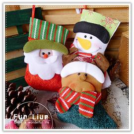 【aife life】聖誕襪禮物袋吊飾/聖誕節佈置/聖誕樹/聖誕燈/聖誕帽/聖誕老人/擺飾/聖誕禮物/交換禮物