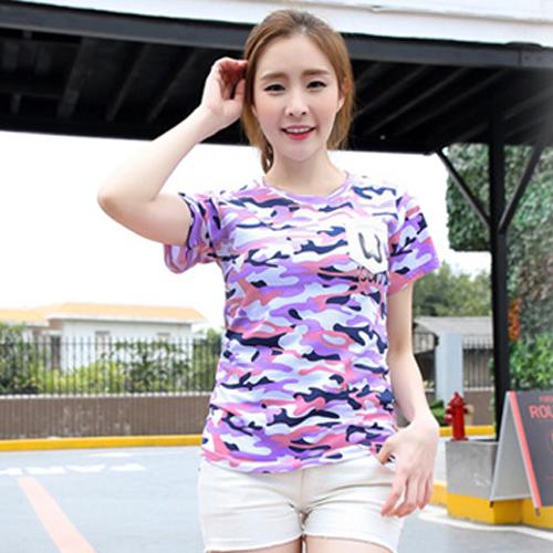 YJY迷彩風口袋T恤[U7117]-2色M.XL