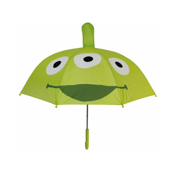 【真愛日本】16080400027立體造型雨傘47cm-三眼怪大臉    迪士尼 玩具總動員 TOY  雨晴傘 造型傘