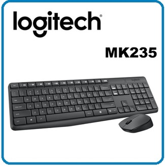 ★整點特賣★羅技 MK235 無線鍵鼠組 即插即用無線連接 滑鼠有電源開關 防退色處理!!