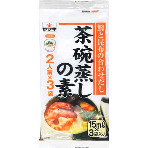 雅媽吉茶碗蒸高湯料3入(45ml)