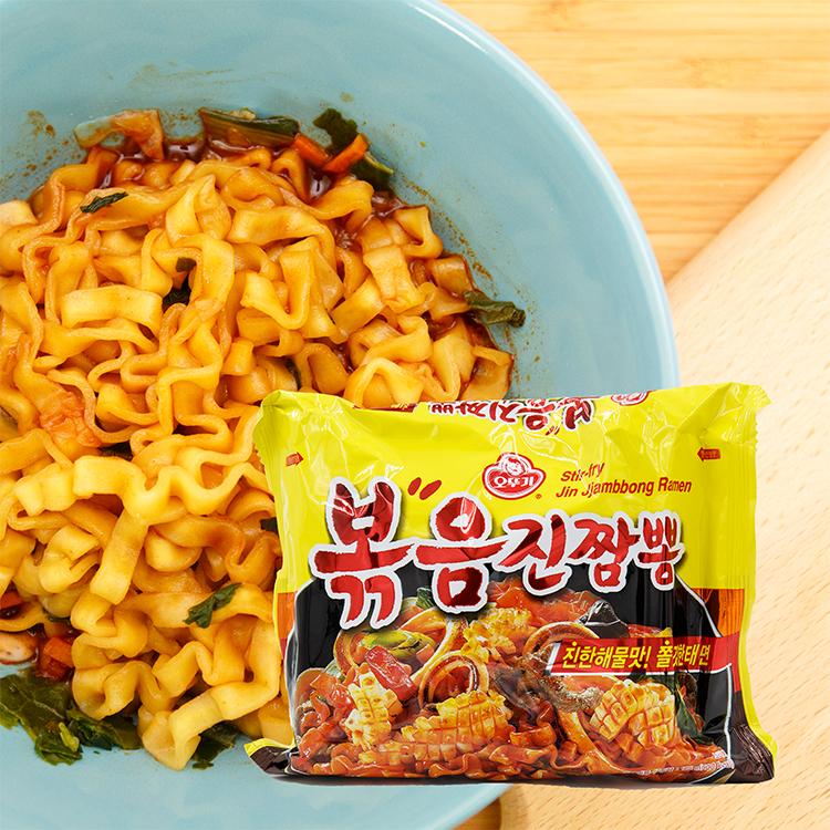 韓國 不倒翁 海鮮炒碼麵(125g)【庫奇小舖】單包入