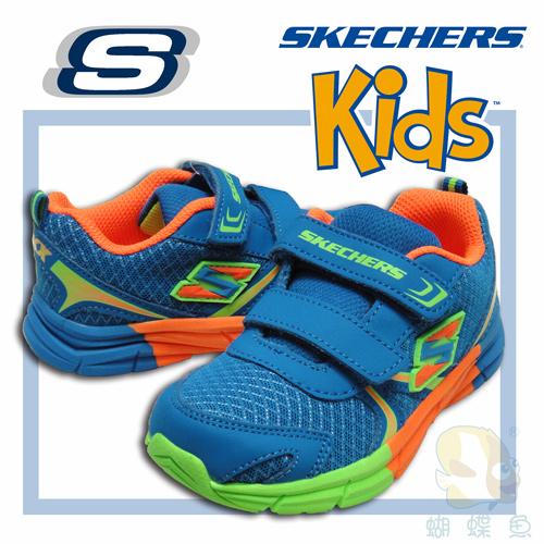 SKECHERS  幼童鞋-男童,95010NBLOR ; 蝴蝶魚戶外用品