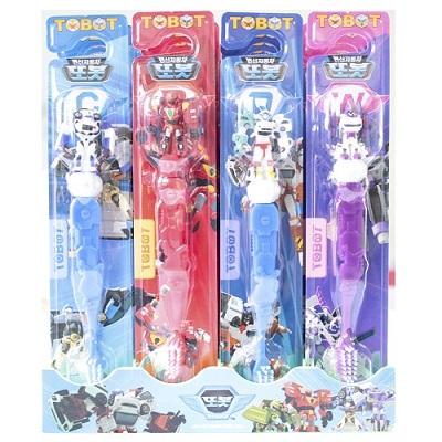 【安琪兒】【TOBOT】機器戰士牙刷-4色