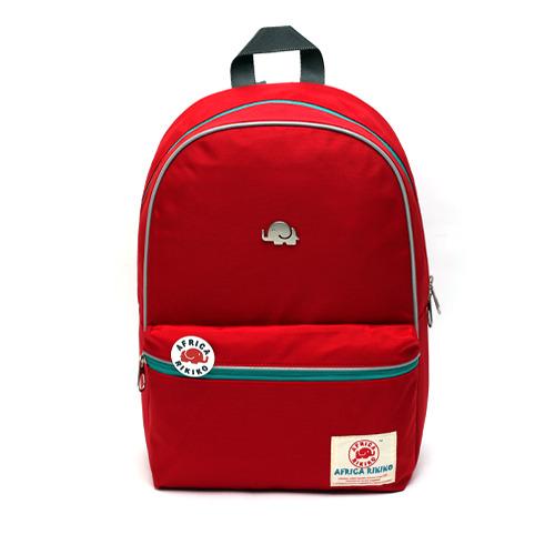 電腦包 韓國品牌 AFRICA RIKIKO 防水後背包 NO.117 빨강(Red) - 包包阿者西