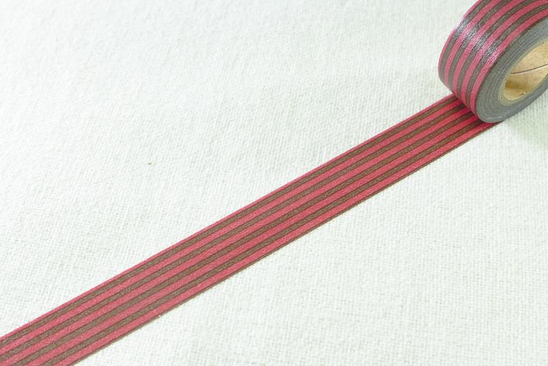 *小徑文化*日本進口和紙膠帶 Mark's maste系列 - BASIC deco ( MST-MKT05-BR )