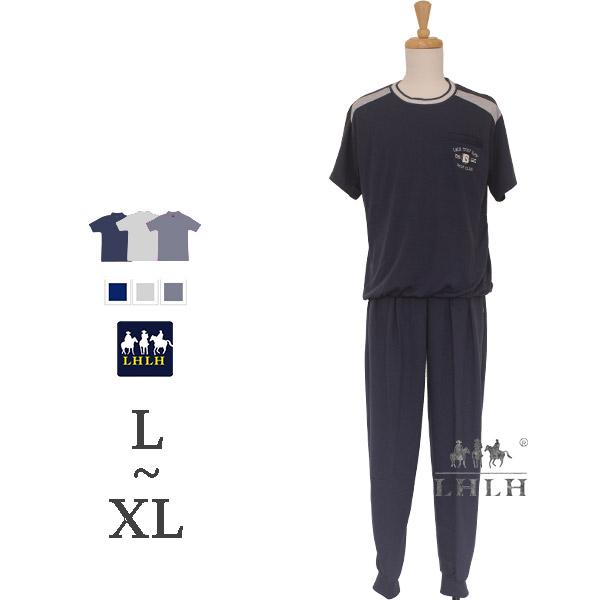 運動套裝 男 【現貨】 短袖長褲 L~XL