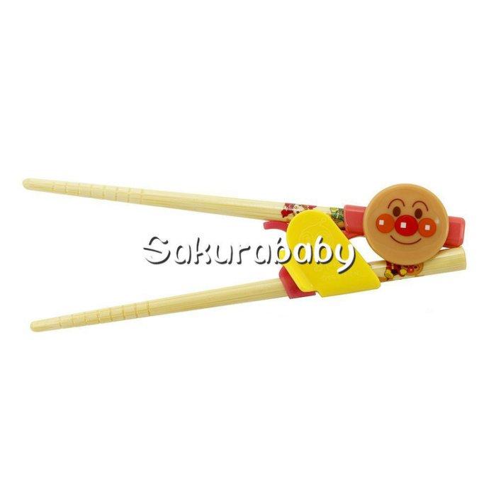 麵包超人 幼兒學習筷 附盒 S尺寸 _櫻花寶寶