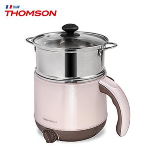 【THOMSON】雙層防燙不鏽鋼多功能美食鍋 TM-SAK14