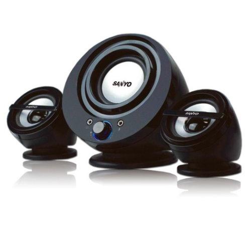 SANYO 三洋 SYSP-832 聲之藝  2.1聲道多媒體電腦喇叭