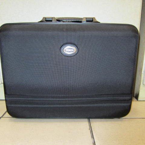 ~雪黛屋~YESON 永生 雙層硬式電腦包 個人行李箱 工具箱 樣品箱 硬式防水尼龍布 雙層 #5175黑