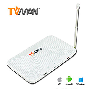 【紐沃科技】TVman WiFi行動版無線數位電視接收器