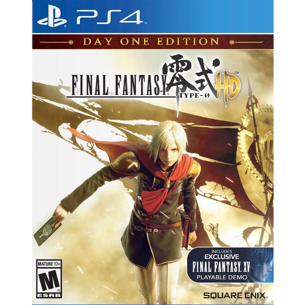 PS4 太空戰士 零式 HD 首日版 英日文美版 Final Fantasy Type-0 HD