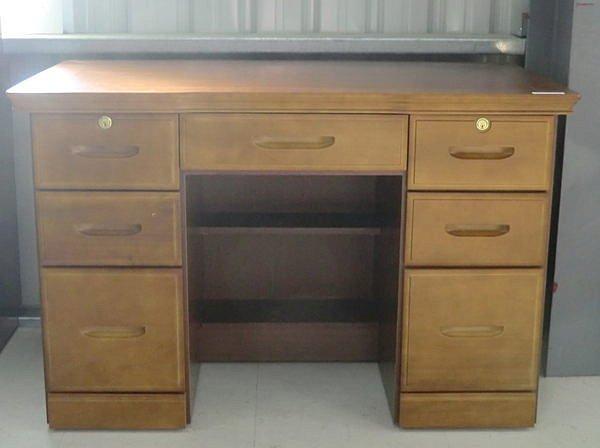 【尚品家具】426-03 黎詩 烏心石4尺2實木辦公桌/書桌~另有3.5尺