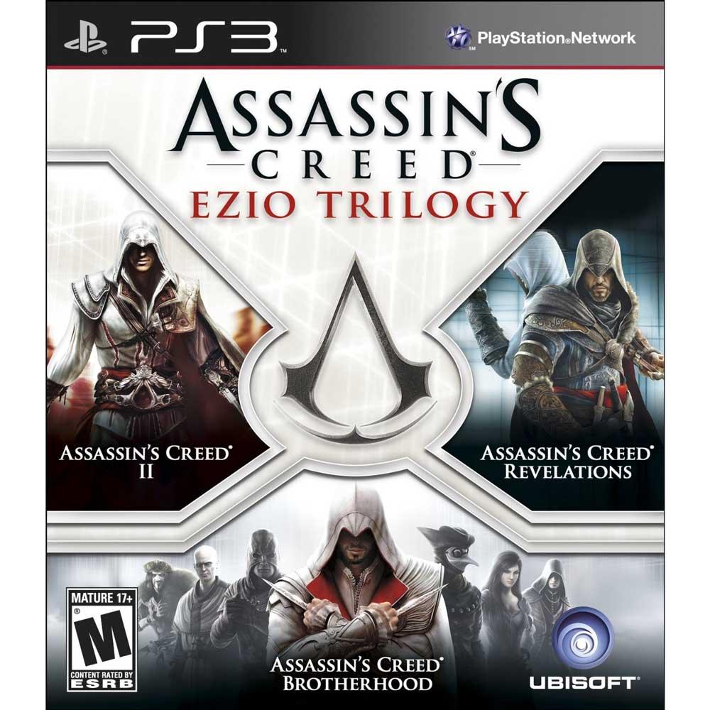 (全新盒損)PS3 刺客教條:Ezio三部曲 英文美版 合輯