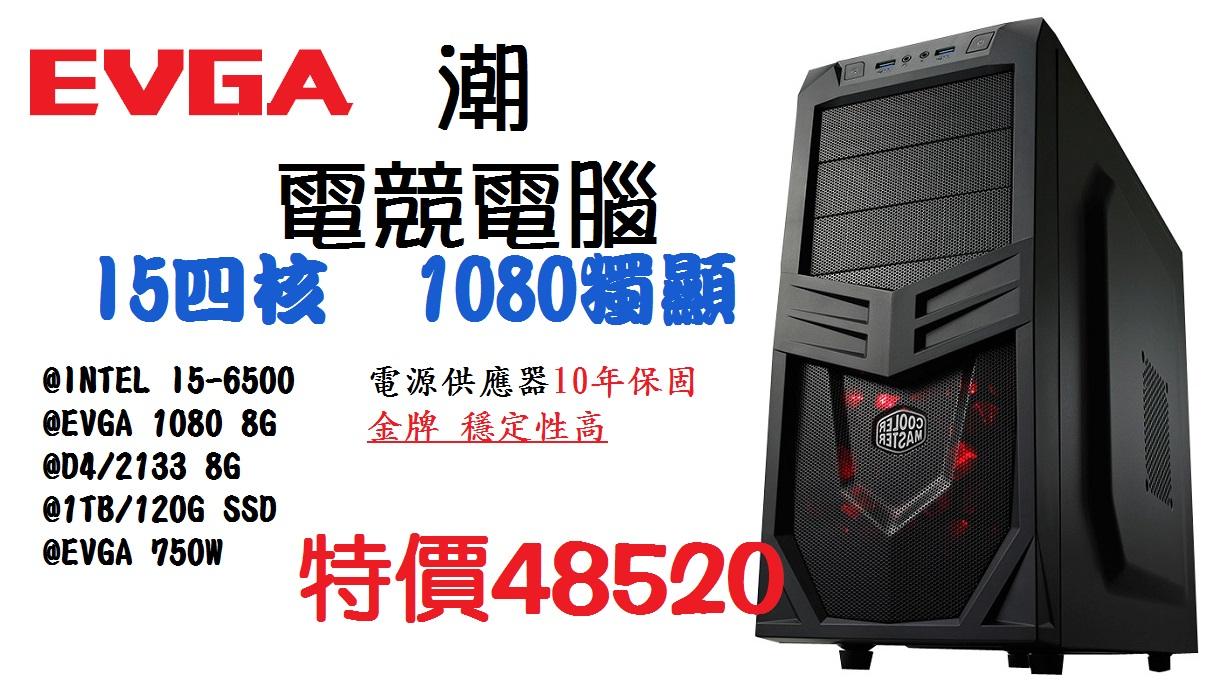 【 儲存家3C 】EVGA潮牌電競電腦-1080獨顯