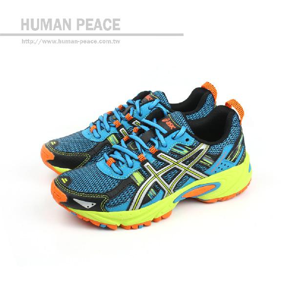 ASICS GEL-VENTURE 5 運動鞋 藍 大童 no189