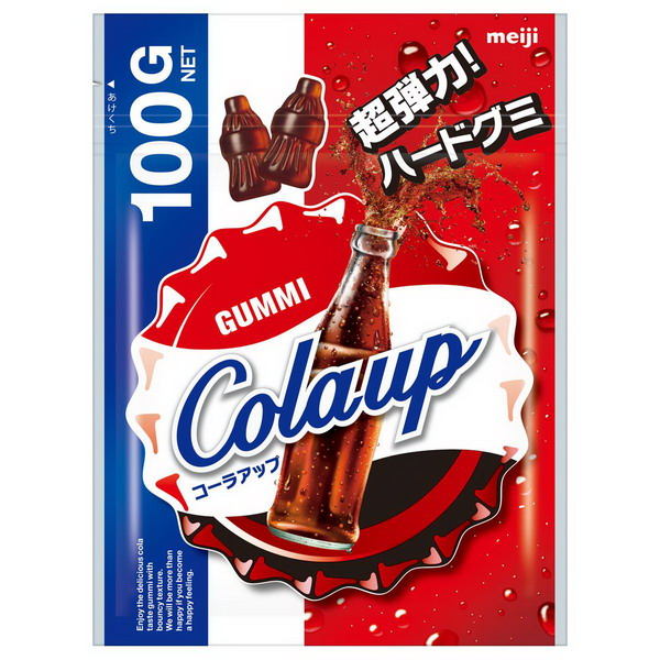 Meiji明治COLAUP超彈力可樂造型軟糖-(100g)