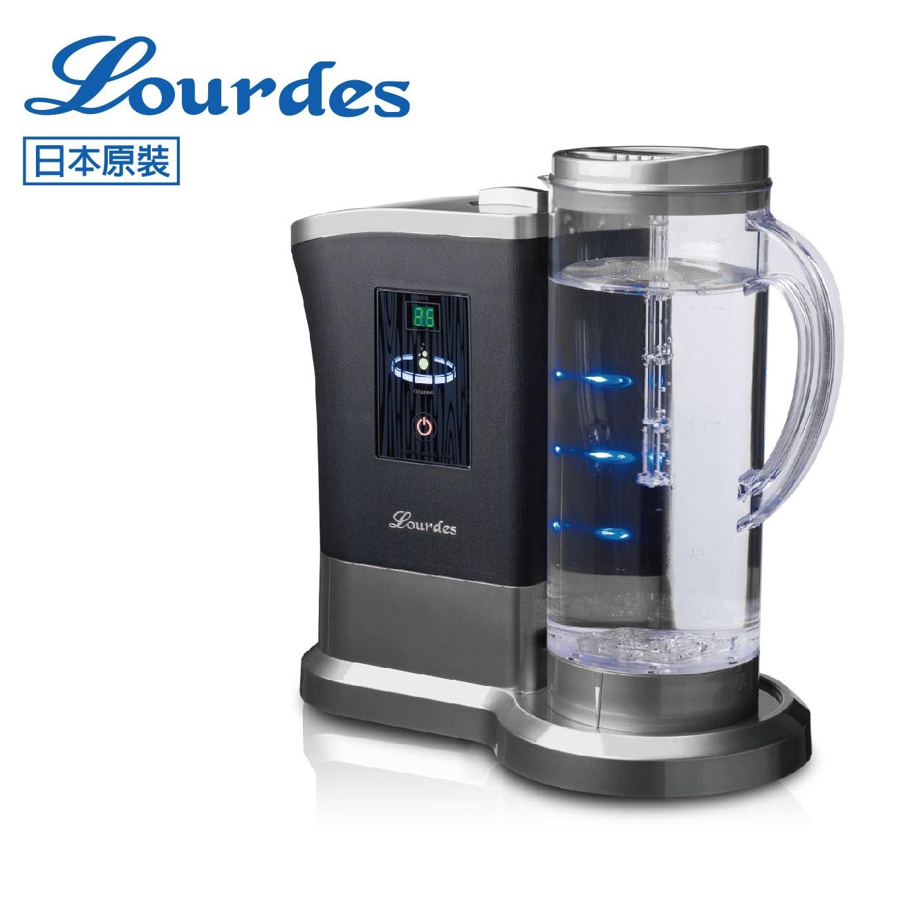 【淨水生活】日本Lourdes 羅德氫騎兵負氫水(高濃度水素水生成器) 水界明日之星 日本原裝進口 - 太空灰