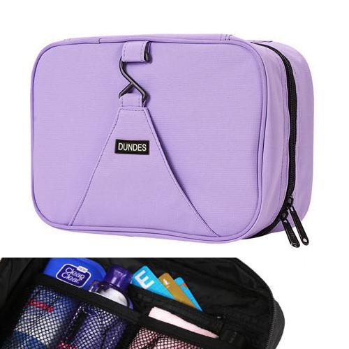 收納袋 素色多功能可掛式化妝包旅行收納袋【MJ87】 BOBI  05/12