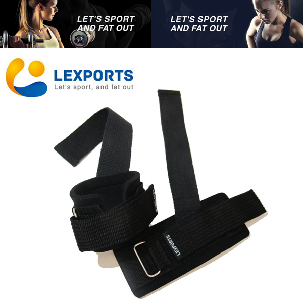 LEXPORTS 勵動風潮 / 專業重訓健身拉力帶(高支撐護腕型) / 重訓助握帶 / 健身助力帶
