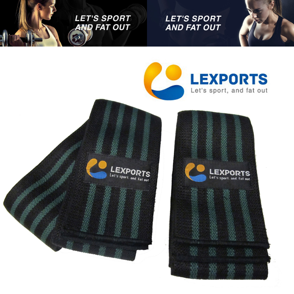 LEXPORTS 勵動風潮 / E-Power 膝部支撐帶 (高重磅彈力型) / 健身輔助帶 / 防護膝部傷害