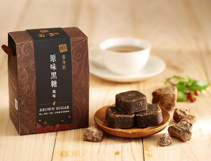 【糖鼎養生鋪】★禮盒包裝★原味黑糖茶磚(35克x14顆獨立包裝)
