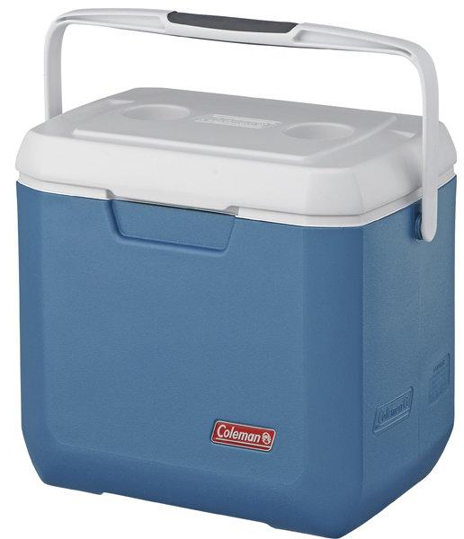 【露營趣】中和 附鋁合金手電筒 Coleman 26L XTREME CM-3088 冷冽藍手提冰箱 行動冰箱 冰桶 釣魚露營必備