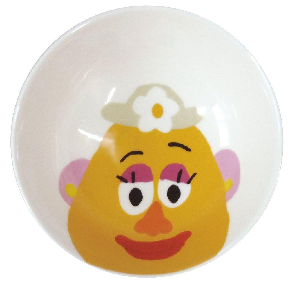 【真愛日本】15070900003 角色陶瓷碗-蛋頭太太  迪士尼 玩具總動員 TOY  瓷器 造型碗