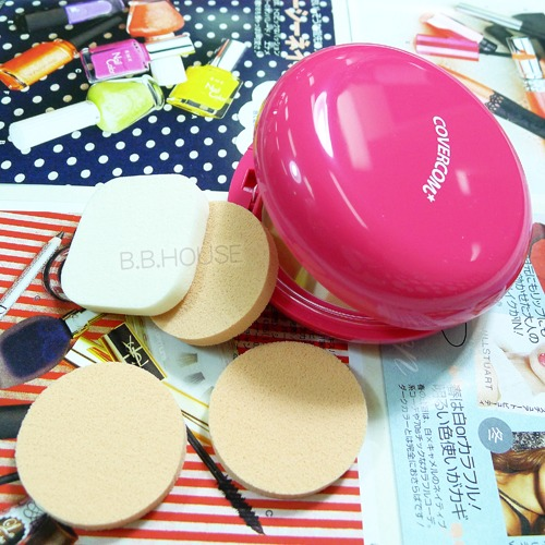 寶貝窩【S30298】COSMOS 超人氣美材小物~粉底專用粉撲(K45)