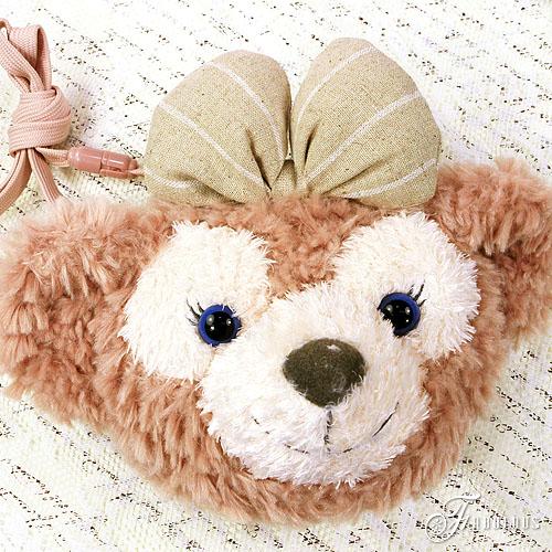 ☆Fabulous☆【TDS0004】Disney迪士尼超人氣Duffy & ShellieMay 可愛絨毛大頭包隨身票夾零錢包