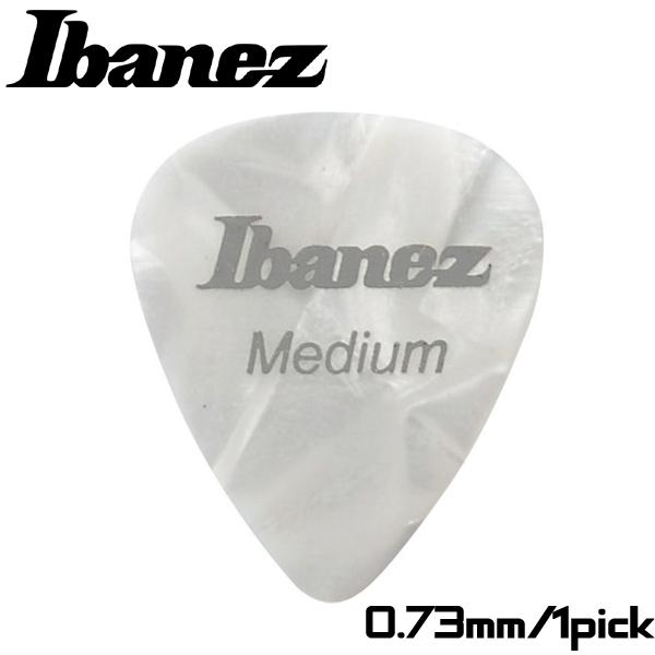 【非凡樂器】Ibanez 標準彈片pick【Medium】0.73mm 白色